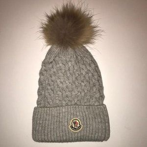 Moncler Nwt Gray Hat